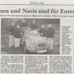 Goslarsche Zeitung am 5.3.2011