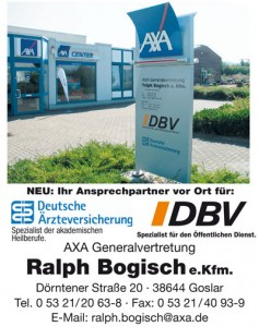 AXA Generalvertretung Ralph Bogisch - Goslar
